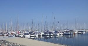 Heiligenhafen marina (et lite utsnitt)