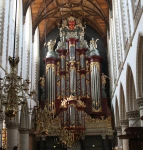 Kirkebesøk i Haarlem. Et fantastisk orgel
