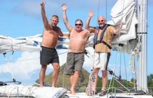 Vi har seilt 3100 mil over havet