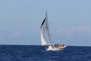 All-Linn passeres på vei mot Antigua